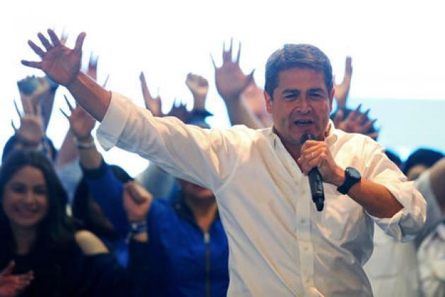 Honduran tally favors second term for president in disputed vote