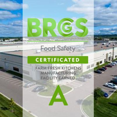 """WellPet's Farm Fresh Kitchens manufacturing facility has earned the grade """"A"""" certification by the BRC Global Standard for Food Safety, enabling valued customers and partners to place trust and confidence in the company's natural pet food and treats."""