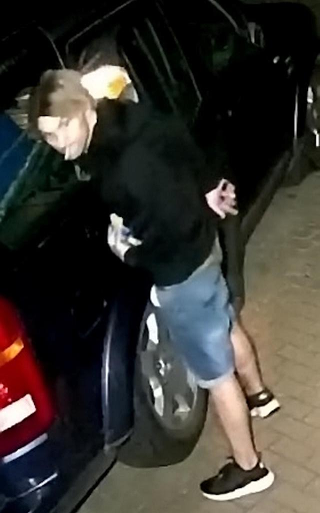 Police found various footage showing Giardina in different wigs. (SWNS)