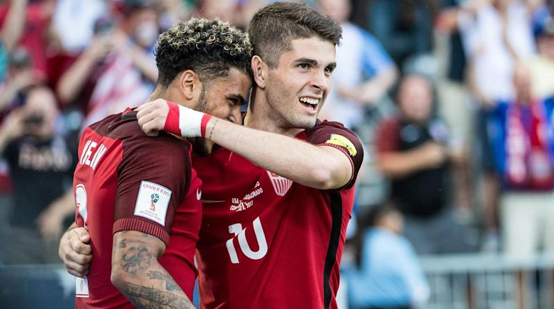 Watch Pulisic Scores Two For Usa Vs Trinidad Tobago In World Cup Qualifying Win