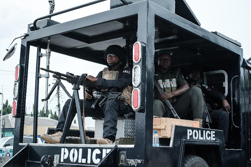 Nigerian police have arrested 93 suspected kidnappers across north Nigeria in the last week (AFP Photo/Yasuyoshi CHIBA)