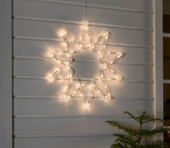 <p>Some shine on your front door? A bit of glitter in your garden? No matter where you want to put it, this warm-white LED star (made from tough acrylic and available in two sizes) is sure to catch attention.</p>  Credits: homify / Garden Site