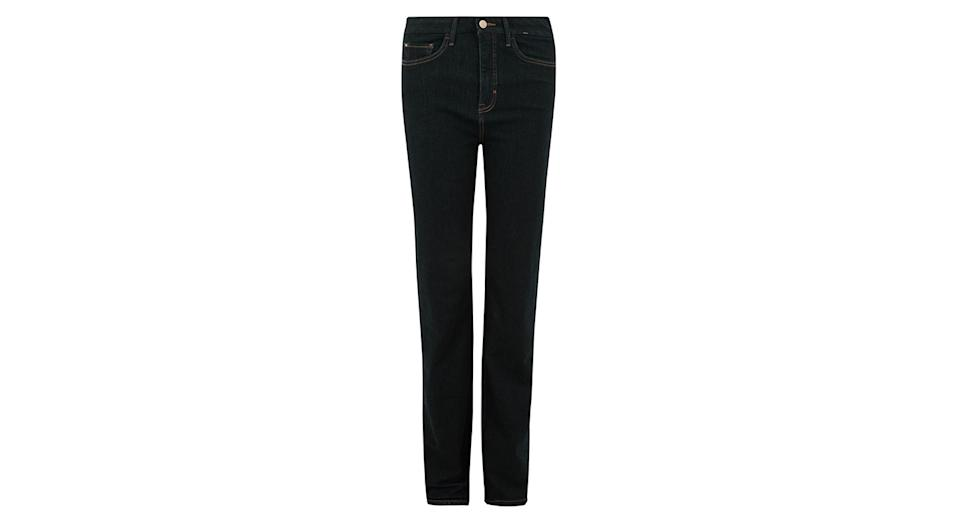 Magic Shaping High Waisted Straight Leg Jeans