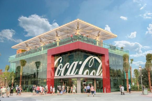 Coca-Cola store in Disney Springs Orlando