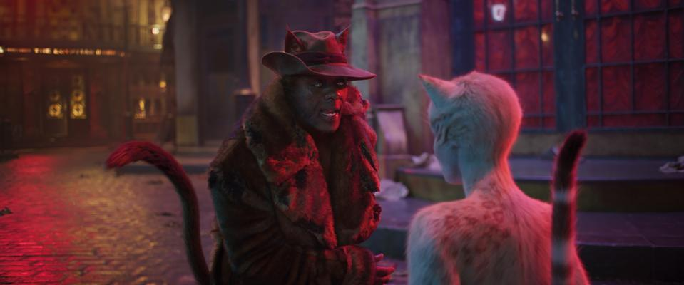Idris Elba in <i>Cats</i> (Universal Pictures)