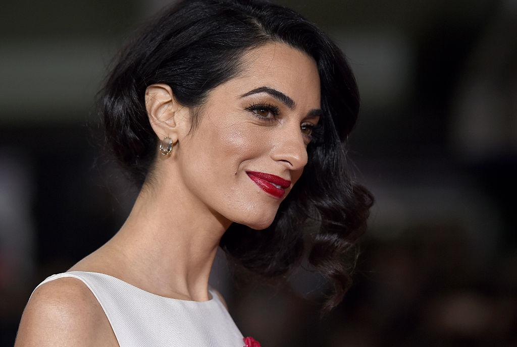 <p>Amal and husband George Clooney welcomed twins named Ella and Alexander on 6 June, 2017. And it caused a media frenzy with social media users desperate to catch a glimpse of the A-list couple's new additions. <em>[Photo: Getty]</em> </p>