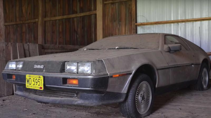 This DeLorean Barn Find Finally Sees The Lights After 32 Years