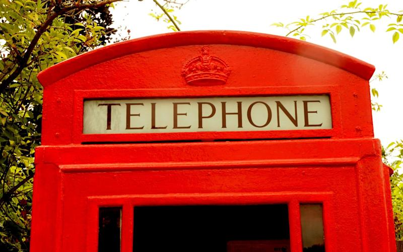 The local council bought the phone box for £1 from BT - Telegraph
