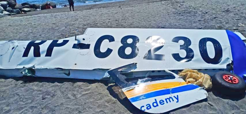 The recovered tail showing the aircraft number (fb.com/coastguardph)
