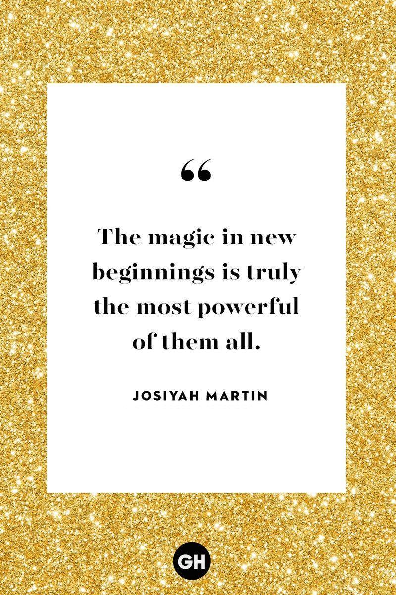 <p>The magic in new beginnings is truly the most powerful of them all.</p>