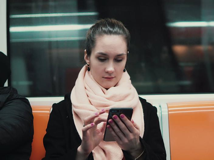 Viruses can easily spread through contaminated surfaces like a subway sear or phone.
