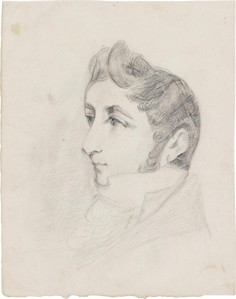 John Constable's sketch of his brother Abram - Sotheby's