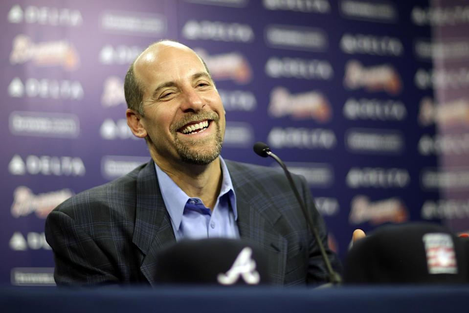 John Smoltz is a nine-time All-Star now. (AP)