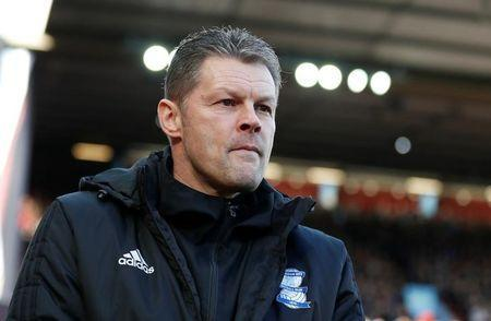 Soccer Football - Championship - Aston Villa vs Birmingham City - VIlla Park, Birmingham, Britain - February 11, 2018 Steve Cotterill Action Images/Matthew Childs