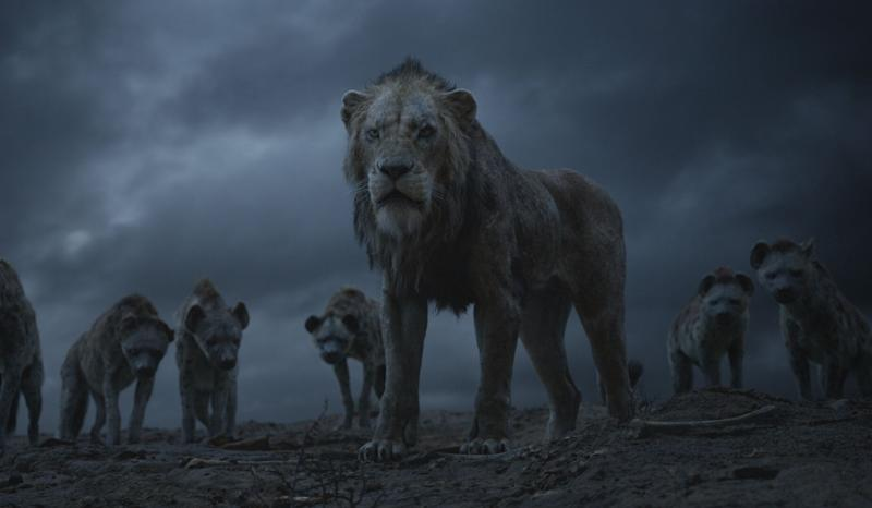 "Scar and the hyenas in ""The Lion King."" (Photo: Disney)"
