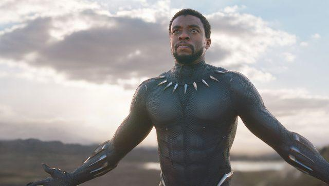 Chadwick Boseman in Black Panther. Image from Twitter
