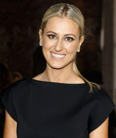 Roxy Jacenko walked out of Big Mama's restaurant at 6pm with family members before the alleged incident. Photo: Supplied
