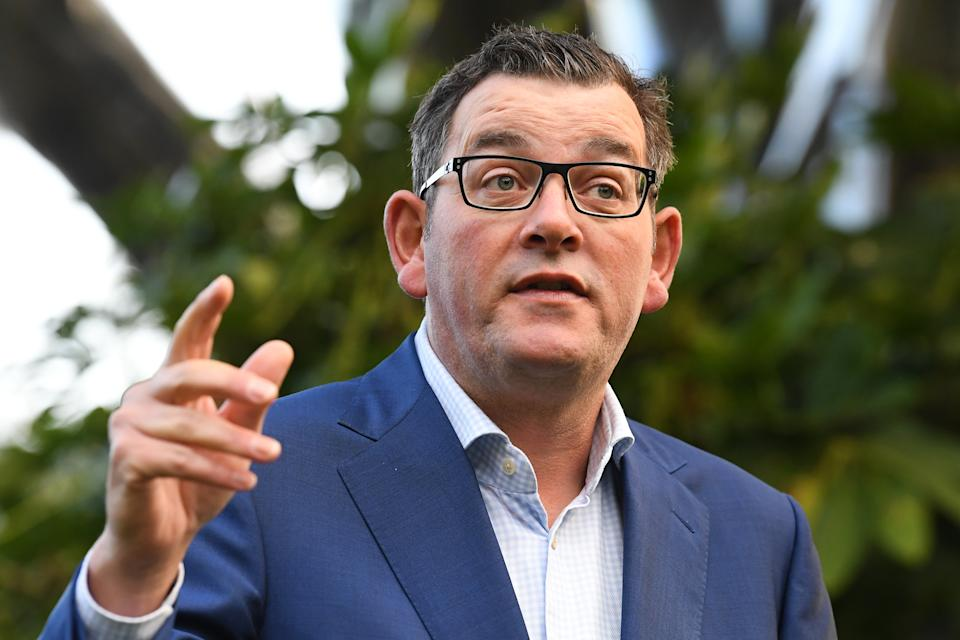 Victorian Premier Daniel Andrews has indicated stage four restrictions could be imposed. Source: AAP