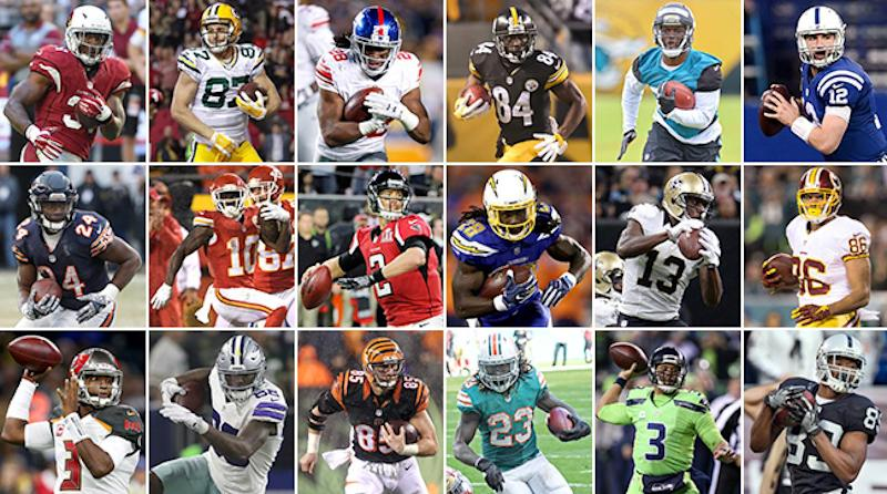 fantasy football s top 100 for 2017