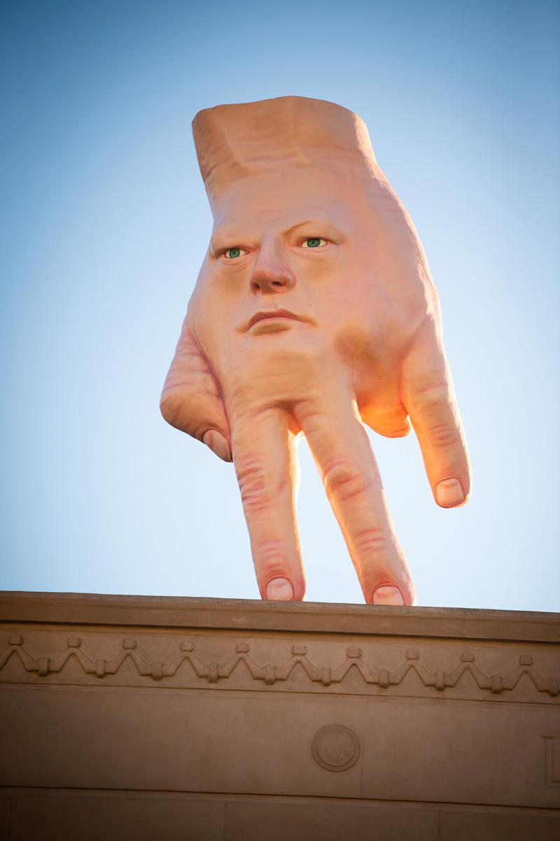 Giant hand sculpture in New Zealand draws mixed reviews: What 'nightmares are made of'?
