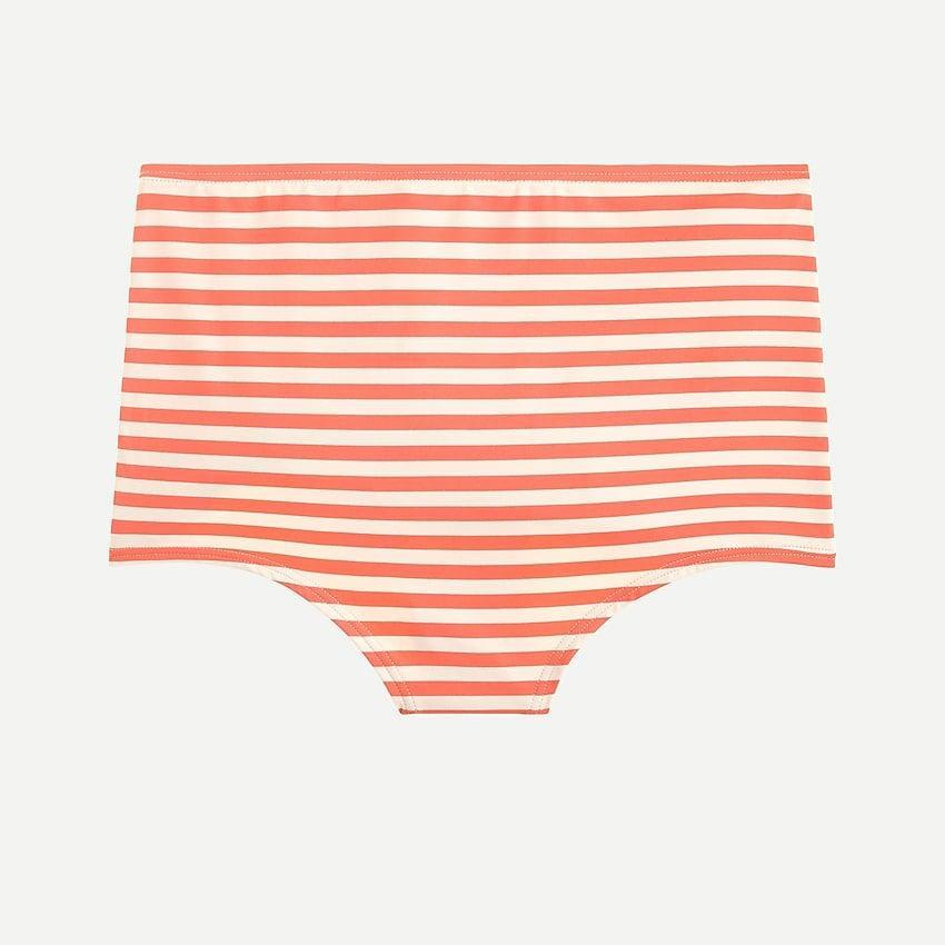 """<br><br><strong>J.Crew</strong> Plus-Size Seamless high-waisted bikini bottom in stripe, $, available at <a href=""""https://go.skimresources.com/?id=30283X879131&url=https%3A%2F%2Fwww.jcrew.com%2Fp%2Fwomens%2Fcategories%2Fclothing%2Fswimwear%2Fseamless-high-waisted-bikini-bottom-in-stripe%2FL1480%3Fdisplay%3Dsale%26fit%3DClassic%26isFromSale%3Dtrue%26color_name%3Dblue-ivory%26colorProductCode%3DL1480"""" rel=""""nofollow noopener"""" target=""""_blank"""" data-ylk=""""slk:J. Crew"""" class=""""link rapid-noclick-resp"""">J. Crew</a>"""