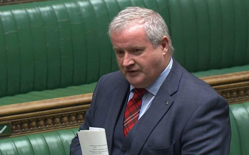 Ian Blackford, the SNP's Westminster leader - PA
