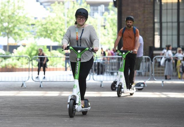 Lime Gen4 e-scooters