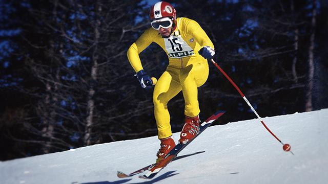 Austrian skier Franz Klammer emerged as an Olympic legend with his daring dash for gold in downhill skiing.