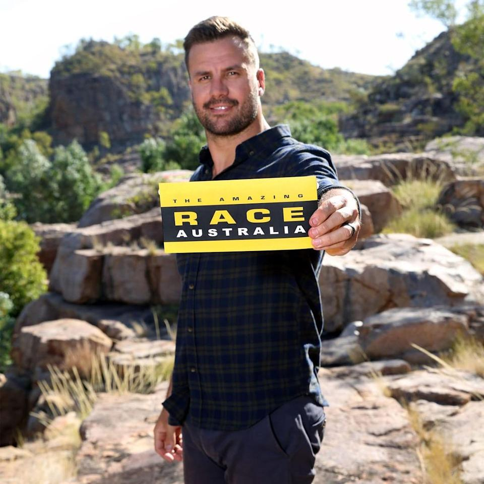 Host Beau Ryan returns for an action-packed season two of Amazing Race Australia. Photo: Channel 10.