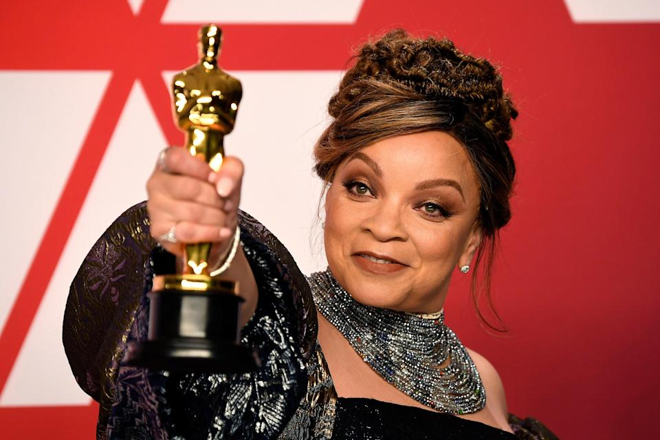 The three-time Oscar nominee received her first Academy Award in 2019Getty Images