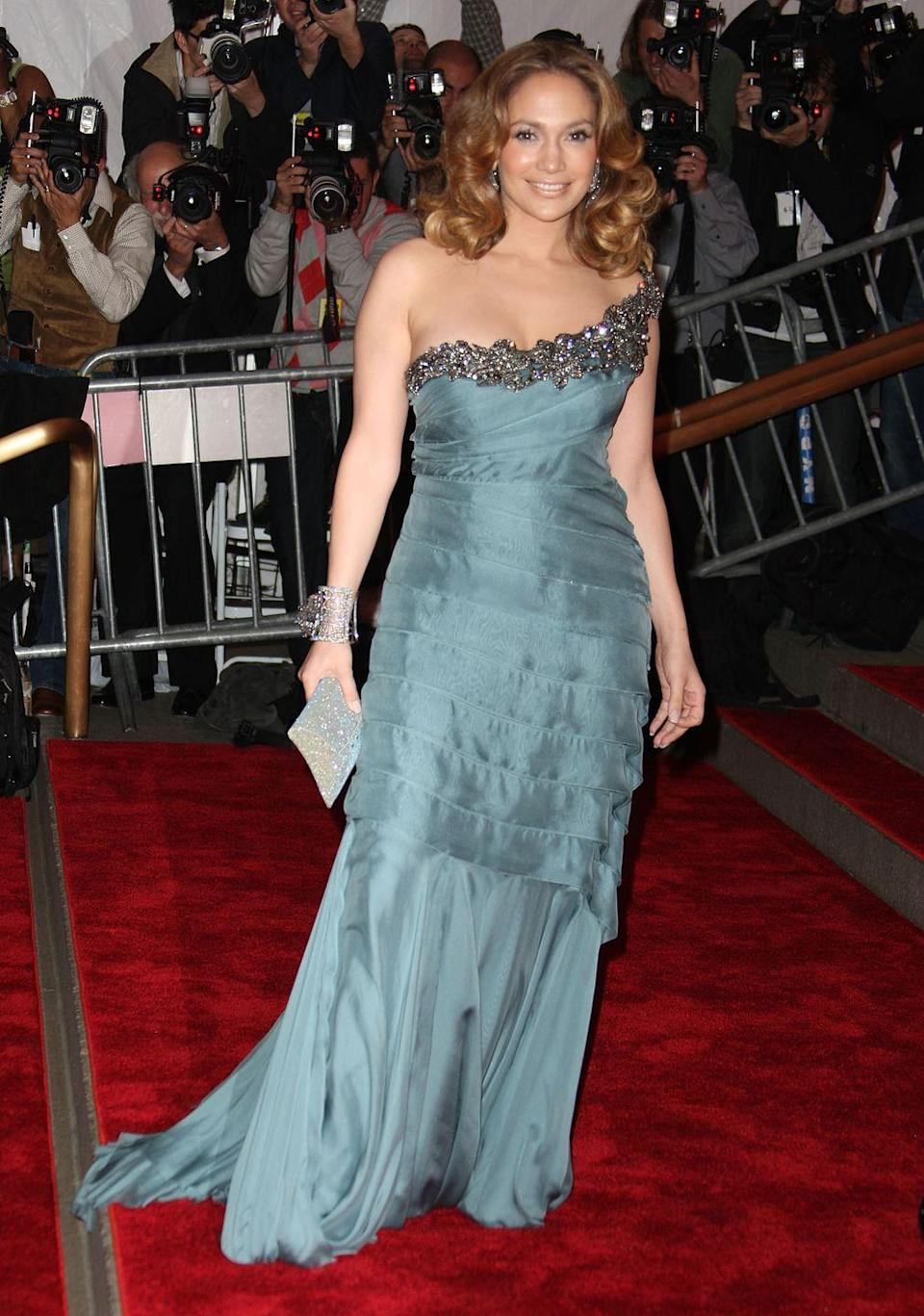 <p><strong>When: </strong>May 2008</p><p><strong>Where: </strong>The Met Gala</p><p><strong>Wearing: </strong>Alberta Ferretti</p>