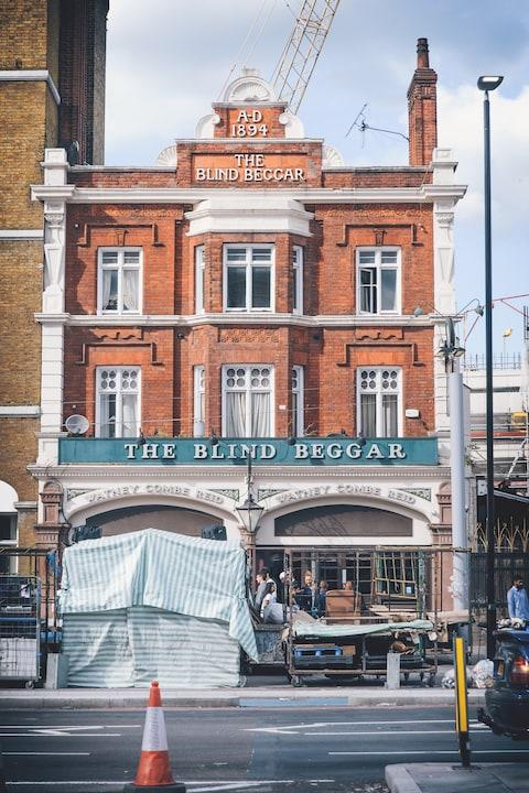 The Blind Beggar is still open for business - Credit: GETTY