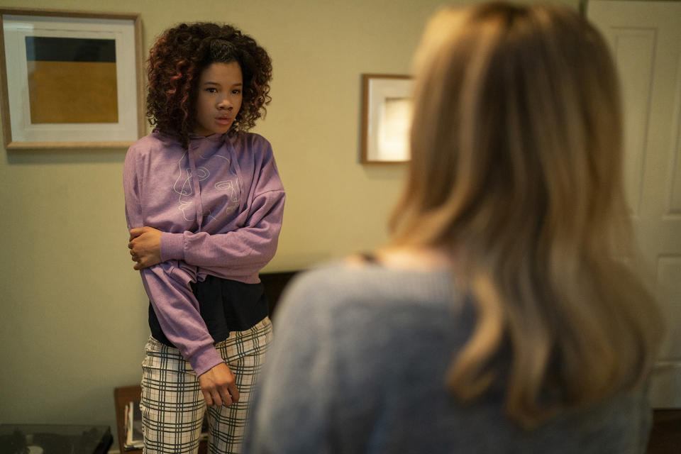 Storm Reid as Sydney in The Invisible Man (2020)