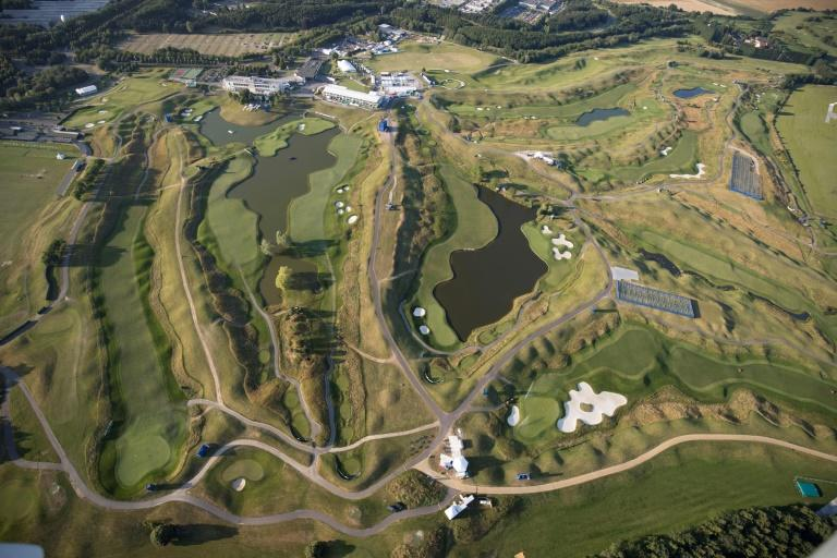 The Albatros course has plenty of water to negotiate, and tight fairways defended by thick rough