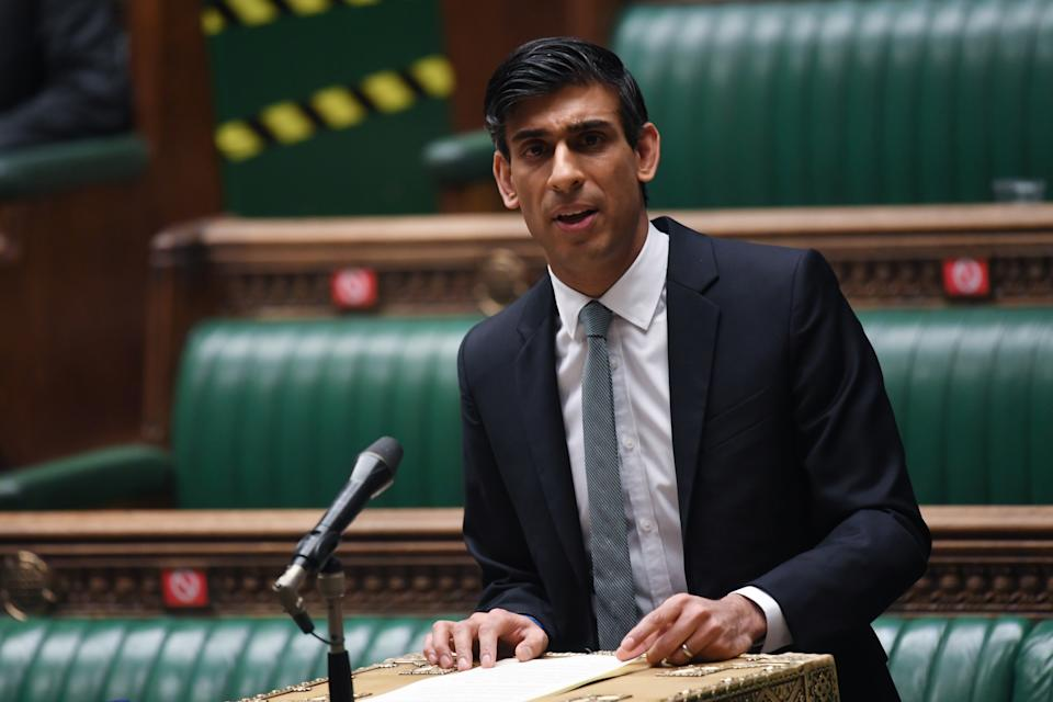 UK chancellor of the exchequer Rishi Sunak. Photo: Jessica Taylor/Reuters/UK parliament