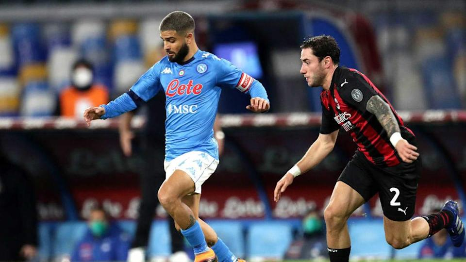 Insigne contro il Milan | MB Media/Getty Images