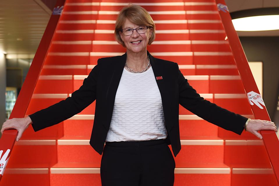 A photo of Coca-Cola Amatil's female group managing director Alison Watkins.