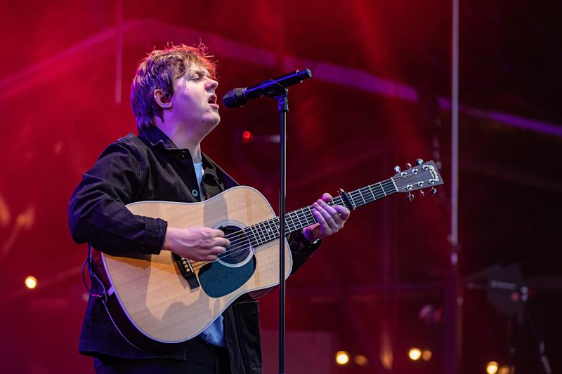 OSLO, NORWAY - JUNE 19: Lewis Capaldi on stage at OverOslo on June 19, 2019 in Oslo, Norway. (Photo by Per Ole Hagen/Redferns)