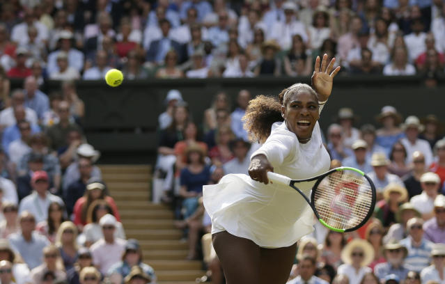 Serena Williams is one Grand Slam singles title shy of tying Margaret Court for most all time. (AP)