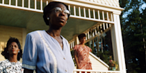 <p>Based on the novel by Alice Walker, <em>The Color Purple </em>is great for a lot of reasons, but mostly because of its <em>extremely </em>stacked cast — Oprah Winfrey, Whoopi Goldberg, Danny Glover, and Laurence Fishburne all star.</p>