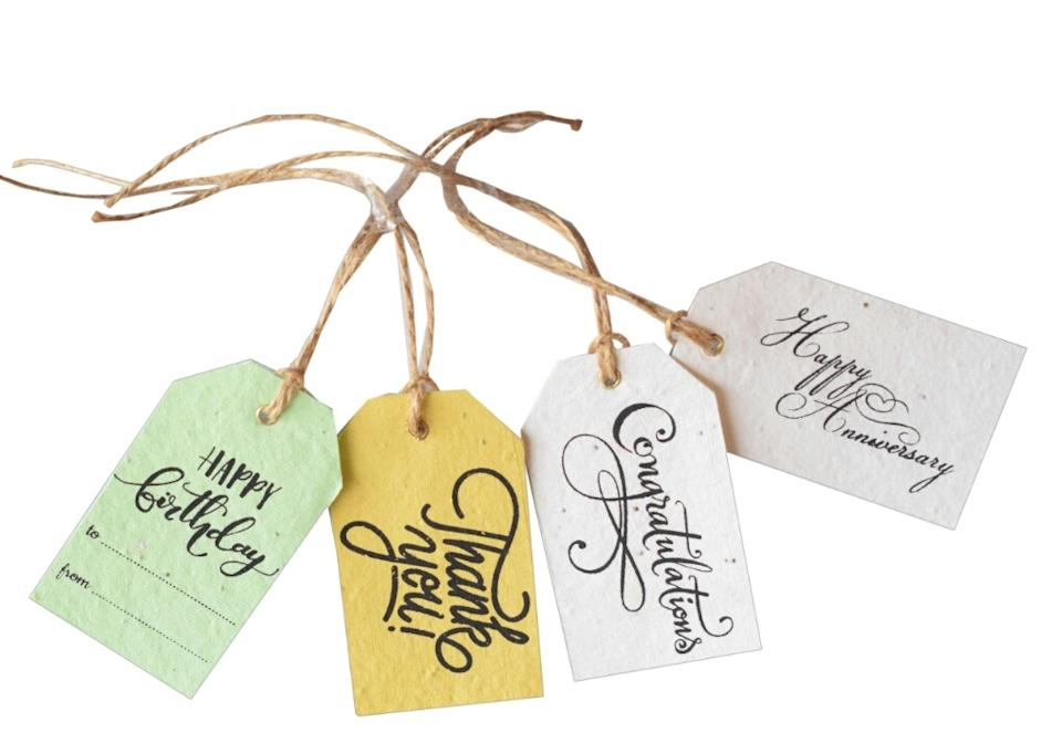 The brand also has Seed Tags that grow, offering retailers an eco-friendly alternative to paper tags on the clothes you buy