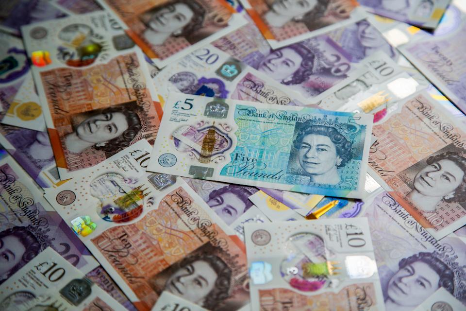 Sterling was 0.6% lower against the euro by 9am in London, at its lowest level in more than a week.Photo: Dinendra Haria/SOPA/LightRocket via Getty Images