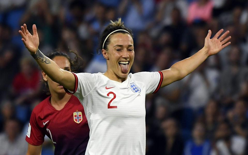 Lucy Bronze hasn't looked at her best since she joined Manchester City in the summer - AFP