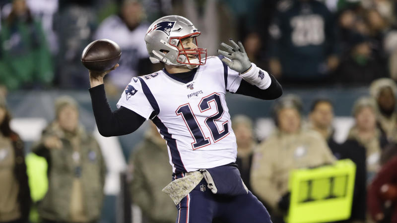 Tom Brady will continue to wear No. 12 in Tampa Bay. (AP Photo/Matt Rourke)