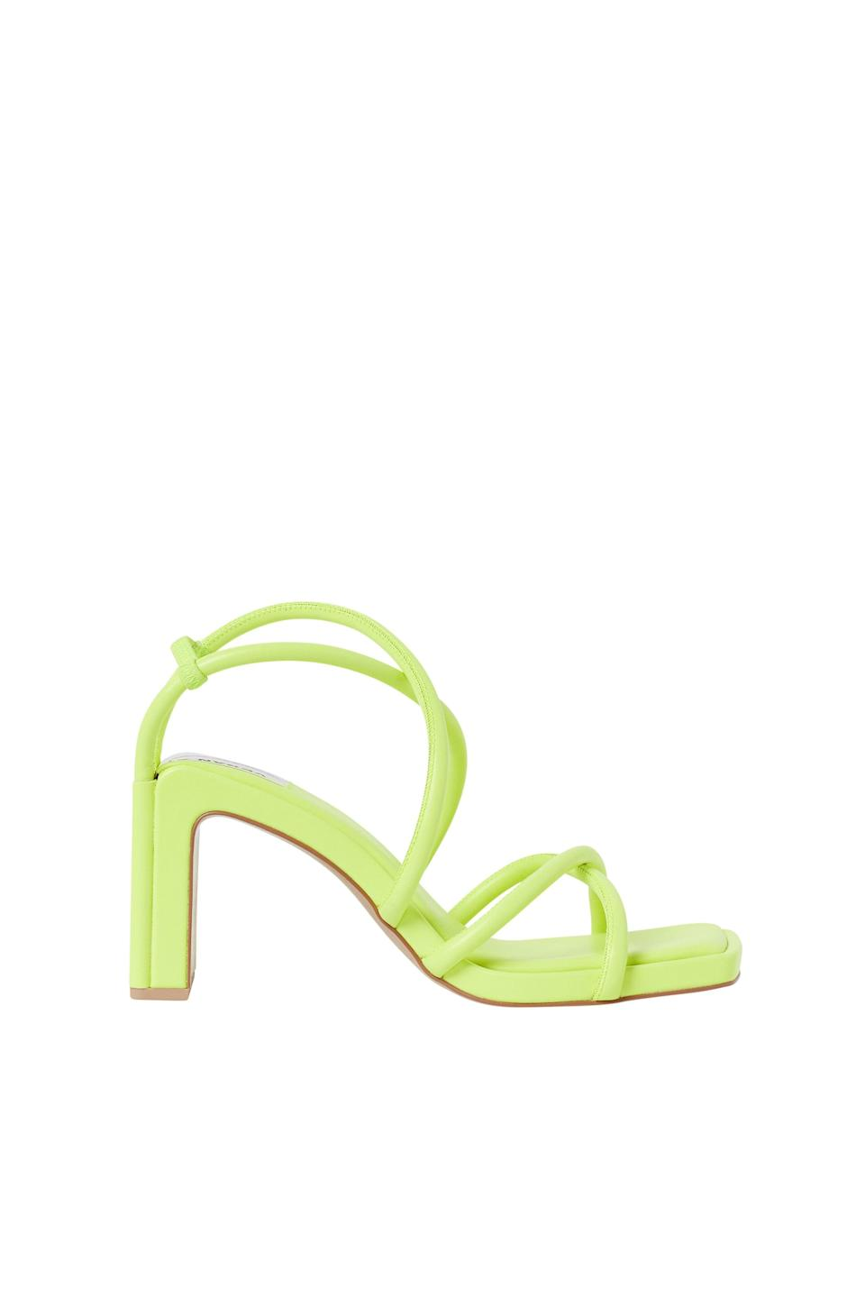<p><span>H&amp;M Innovation Science Story Sandals in Neon Green</span> ($129)</p>
