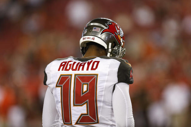 Former Buccaneers kicker Roberto Aguayo was, well, not so perfect in the NFL. (Photo by Don Juan Moore/Getty Images)