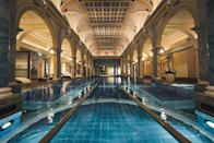 "<p>This Swiss sanctuary has drawn health-seekers for more than 150 years and is considered to be the first five-star wellbeing and medical health resort of its kind. The cornerstone of <a href=""https://www.resortragaz.ch/en/"" rel=""nofollow noopener"" target=""_blank"" data-ylk=""slk:Grand Resort Bad Ragaz"" class=""link rapid-noclick-resp"">Grand Resort Bad Ragaz</a>'s philosophy is ""live healthy to stay healthy,"" leaving guests with sustainable tools they can take home to live healthier lives. Generations-old thermal spas, unique massage and other healing treatments, ultra-luxurious Spa Suites with views of the Bündner Herrschaf region, and exclusive experiences to engage the senses. It's no wonder celebrities, politicians, and socialites alike have flocked to Bad Ragaz since 1869.</p>"