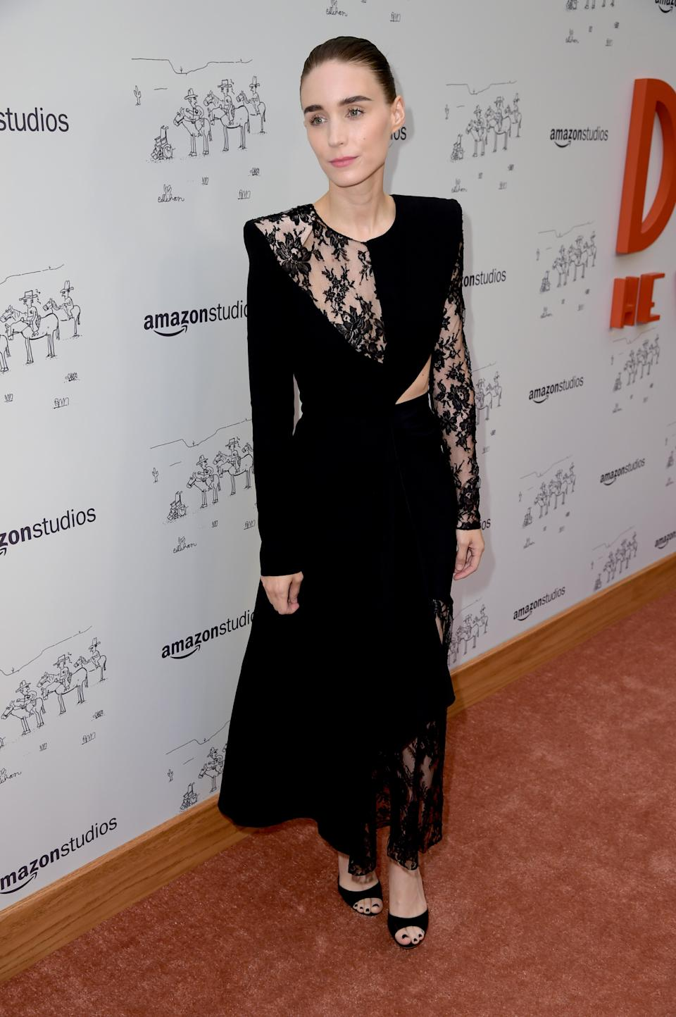 <p>On 11 July, Rooney Mara attended the premiere of 'Don't Worry, He Wont Get Far On Foot' in a Givenchy number. <em>[Photo: Getty]</em> </p>