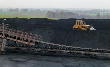 FILE PHOTO: Shafts are seen at JSW's Pniowek coal mine in Pawlowice