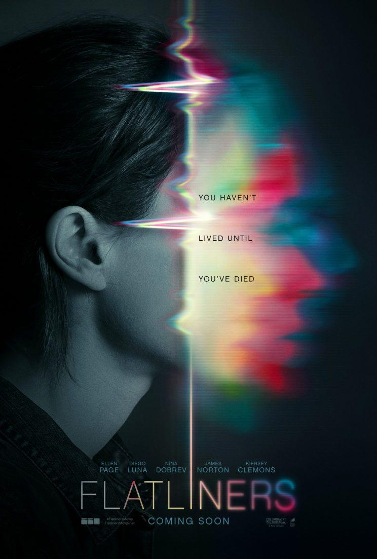 Here's the poster for Flatliners - Credit: Sony